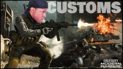 Ninjas Battle It Out In COD Customs! - Stream Replay