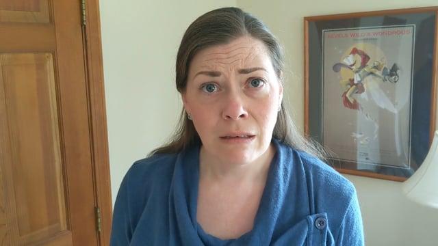 Kristen Moriarty, Calphurnia monologue