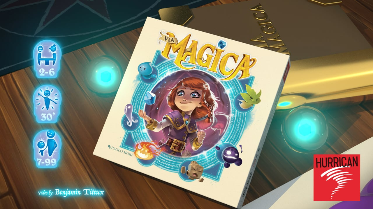 VIA MAGICA - HURRICAN GAMES
