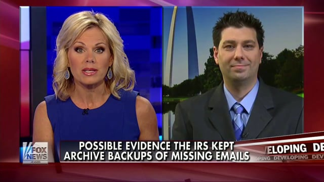 2014-06-25 - Gretchen Carlson - Evidence IRS kept email backups for FISMA.mp4