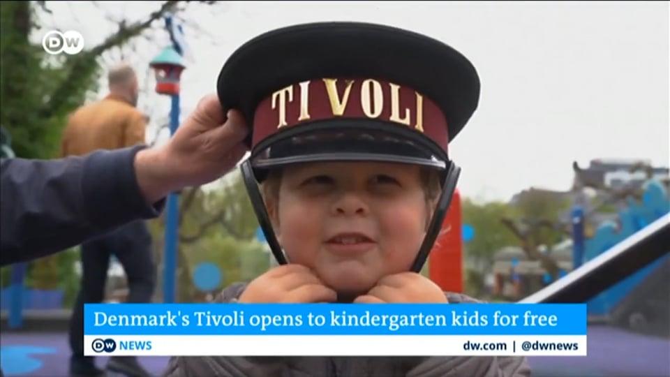 Hele verden har fortalt om Børnehaver i Tivoli