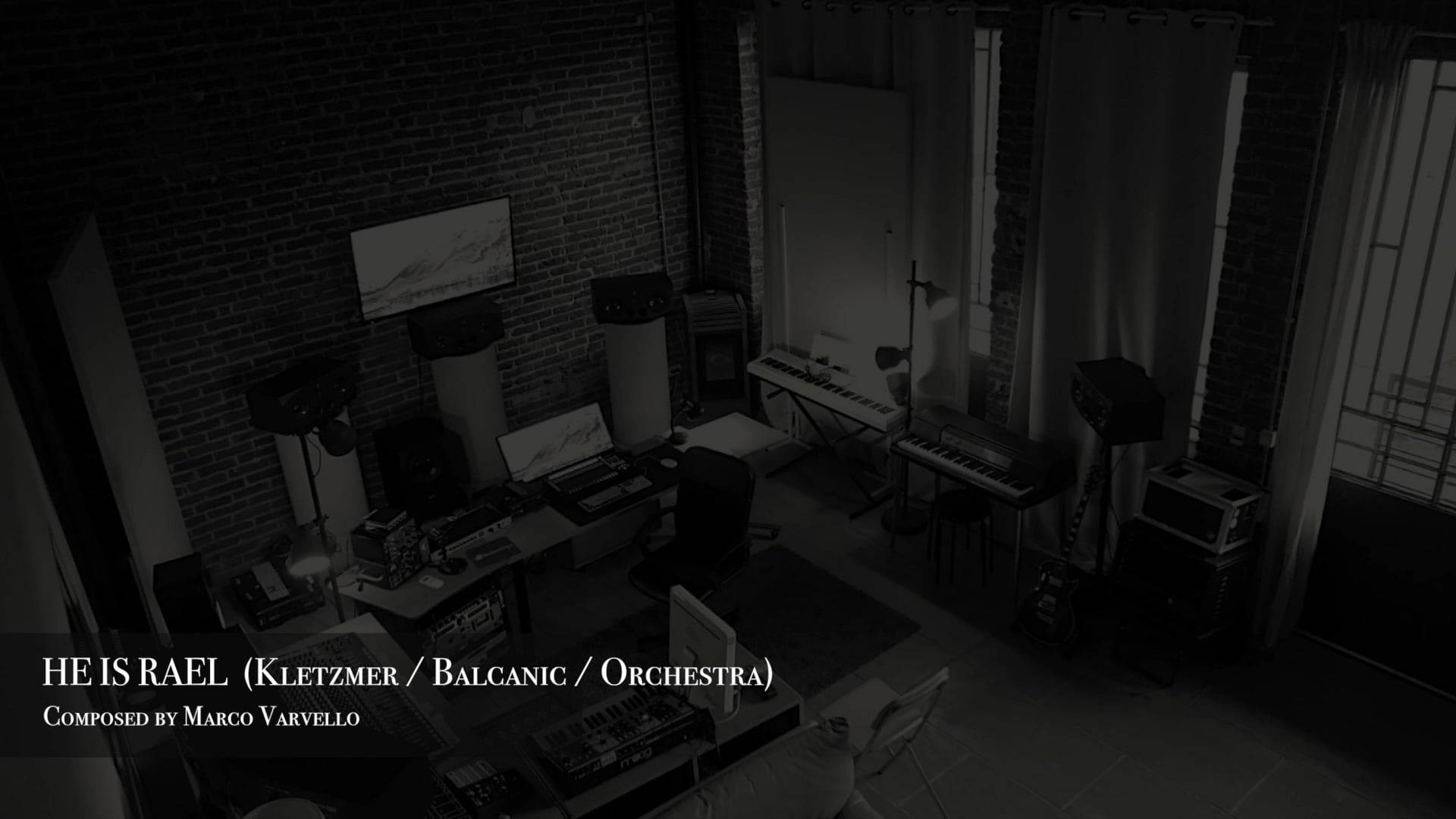 HE IS RAEL (Kletzmer   Balcanic   Orchestral) SOUNDTRACK MUSIC