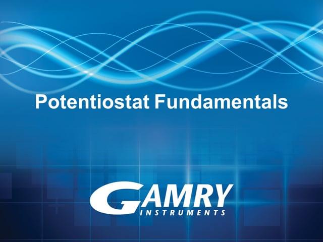 Potentiostat Fundamentals