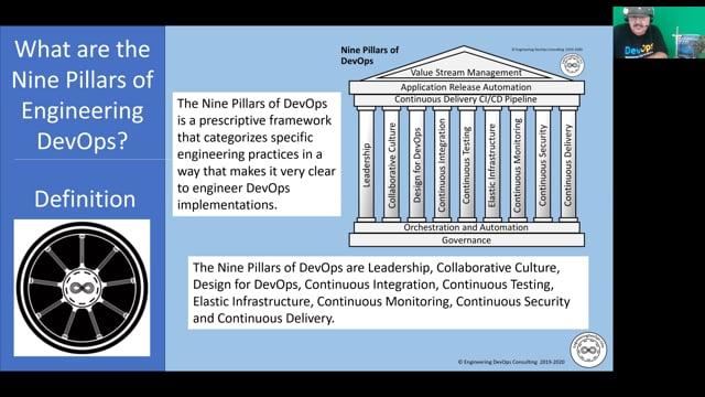 EDT2 - Nine Pillars of Engineering DevOps