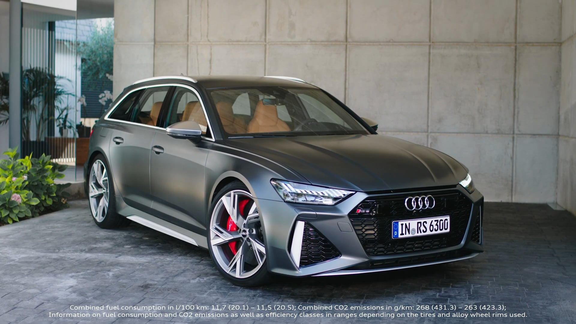 Audi RS 6 Avant Trailer