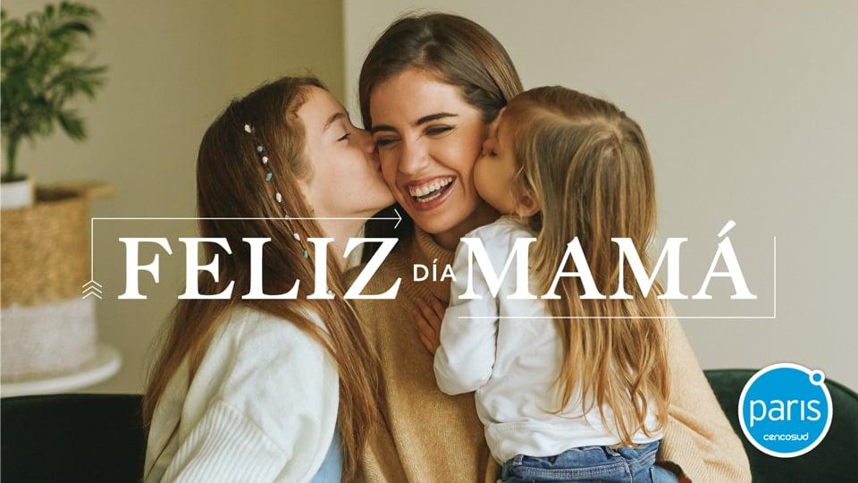 Millaray Viera Tiendas Paris Campaña Día de la Madre