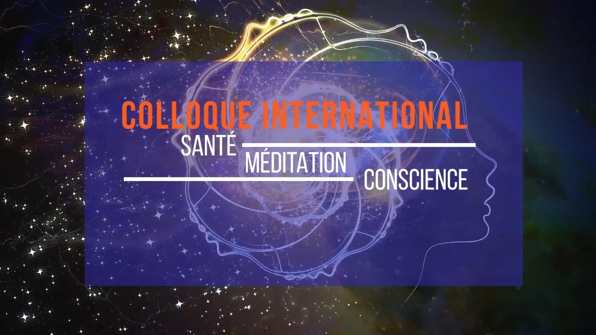 """Martin Aylward, Colloque """"Santé, Méditation et Conscience"""" au Grand Rex, Paris"""