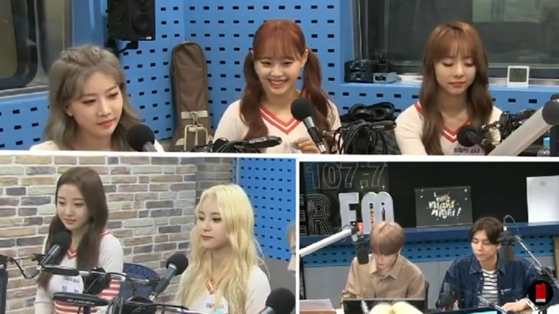 "[ENG] LOONA on SBS PowerFM ""NCT Night Night"" (180913)"