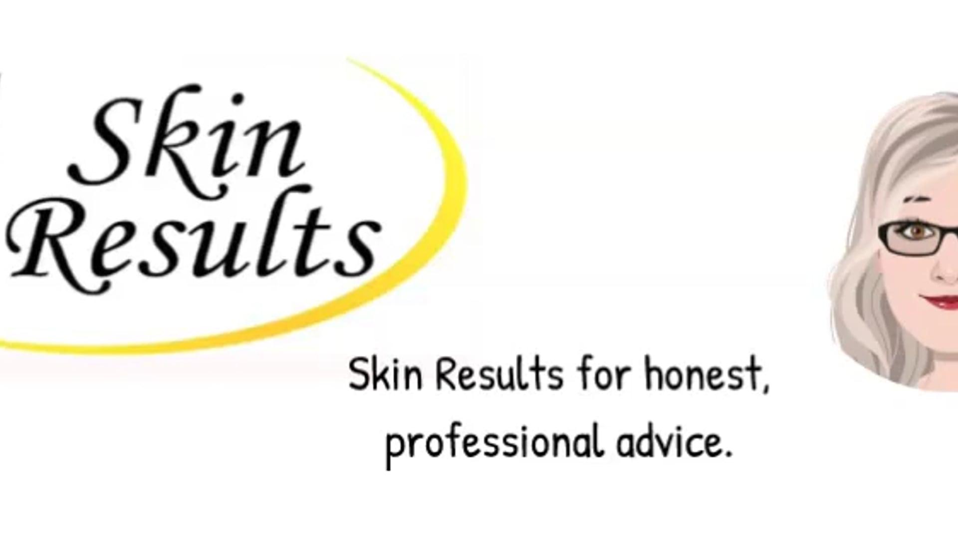 Skin Results Cartoon Ad