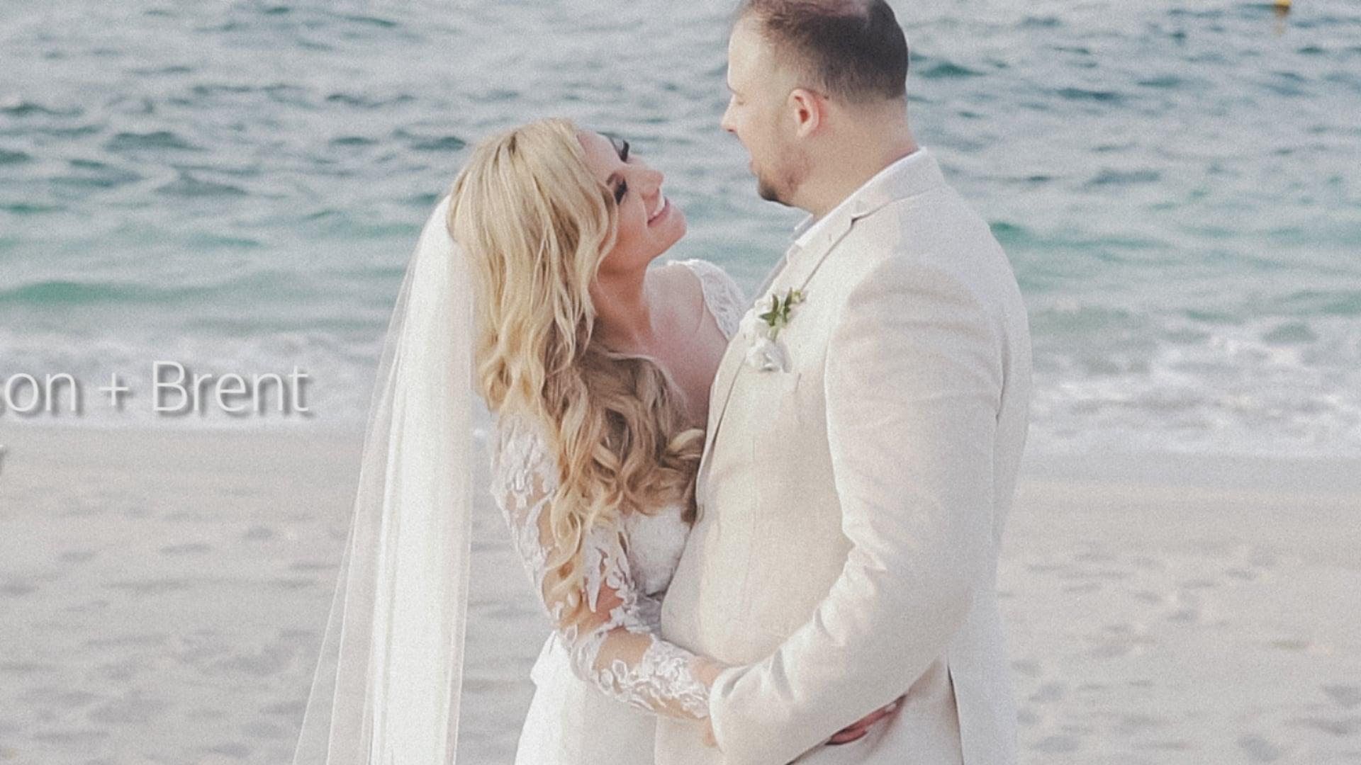 A+B Wedding Trailer