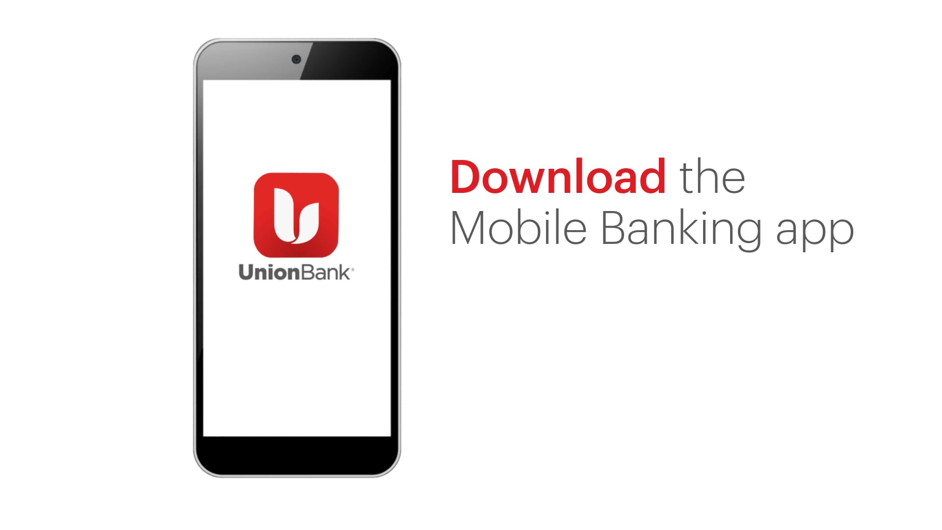 Union Bank: Mobile Deposit