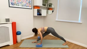Thigh and Hamstring Stretch