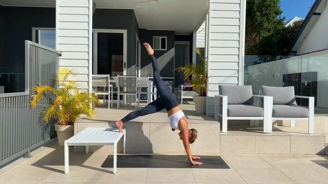 20min advanced table workout