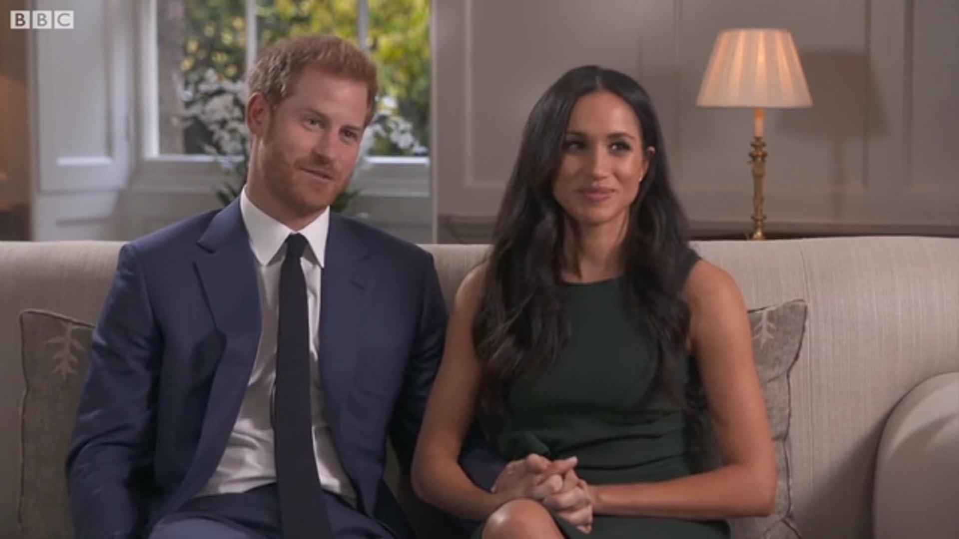 Harry and Meghan Engagement - BBC - Rupert Binsley