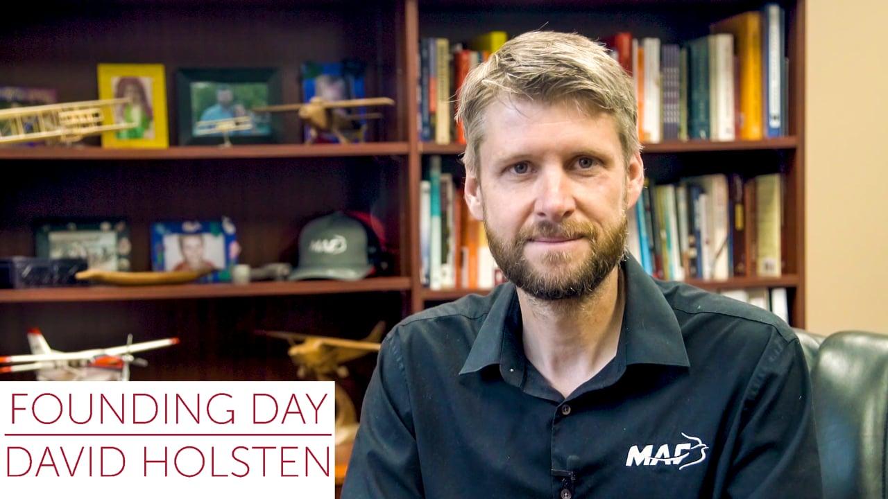 David Holsten on Founding Day
