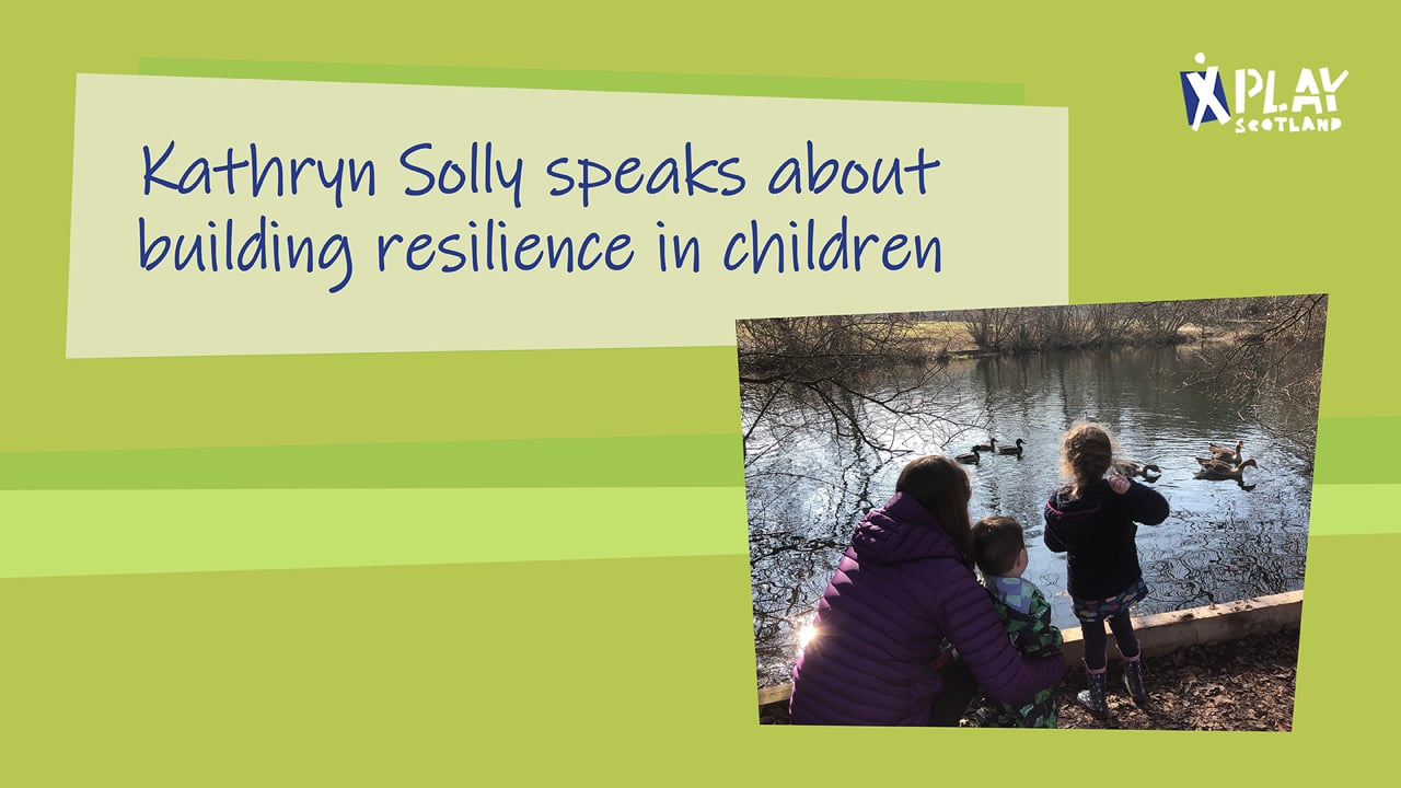 Kathryn Solly speaks about building resilience in children