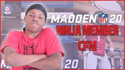 Playing The Ninja Member CFM Game! (Stream Replay)