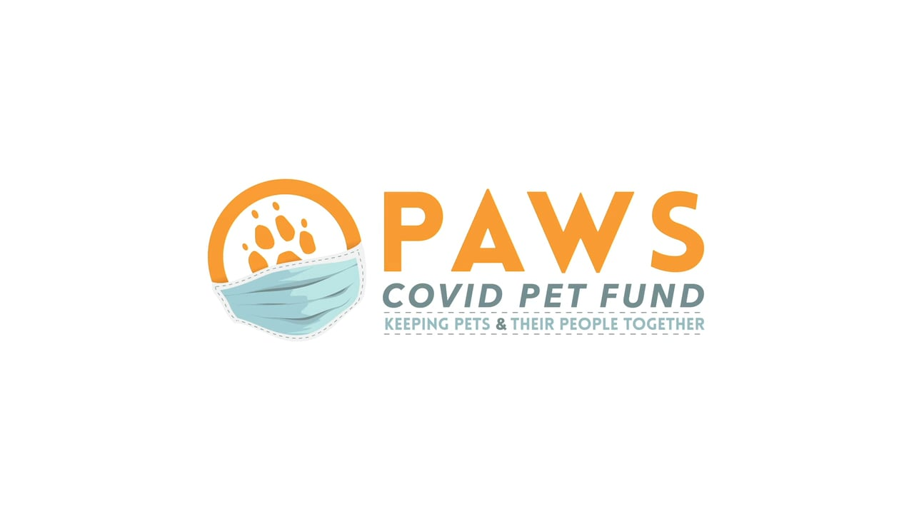 PAWS COVID Pet Fund: Keeping Pets & Their People Together