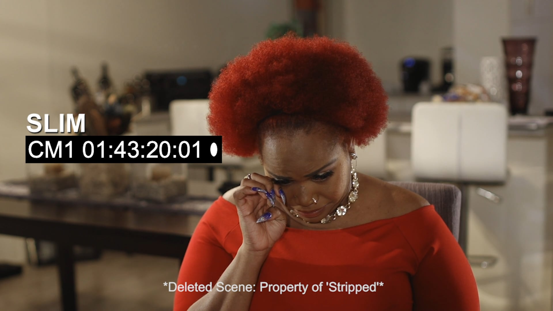 Stripped - Deleted Scene - Slim Speaks Friendship with Mz Lady Ice