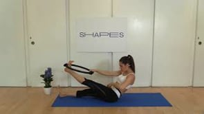 Cardio Boost focused on Abs (with Pilates ring)