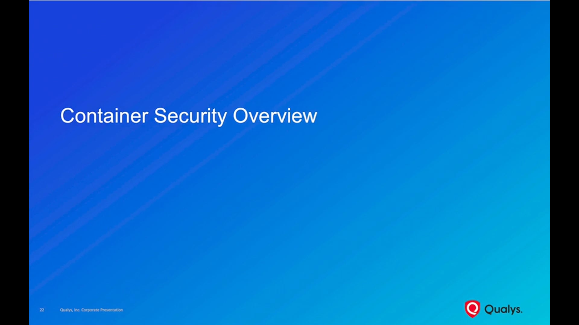 Container Security Overview