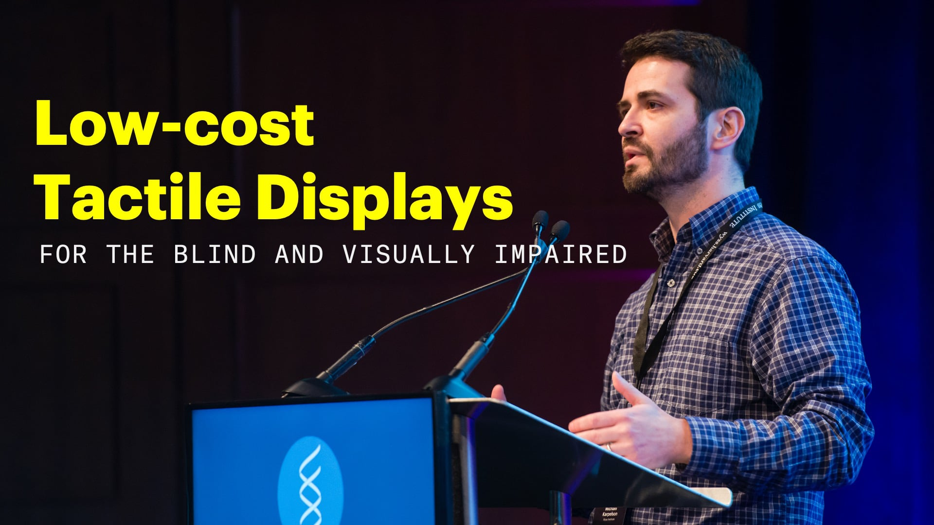 Low-cost Tactile Displays for the Blind and Visually Impaired