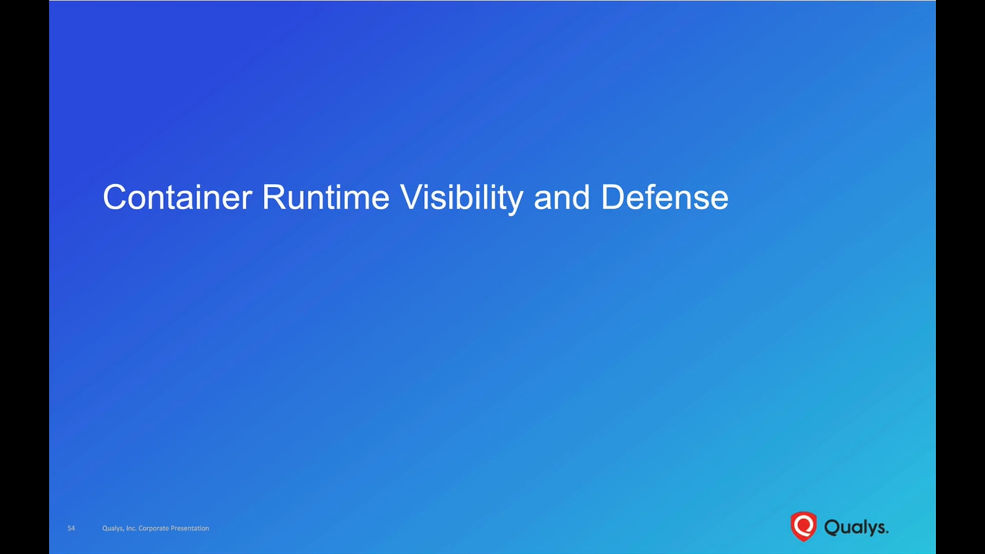 Container Runtime Visibility and Defense
