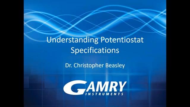 Understanding Potentiostat Specifications
