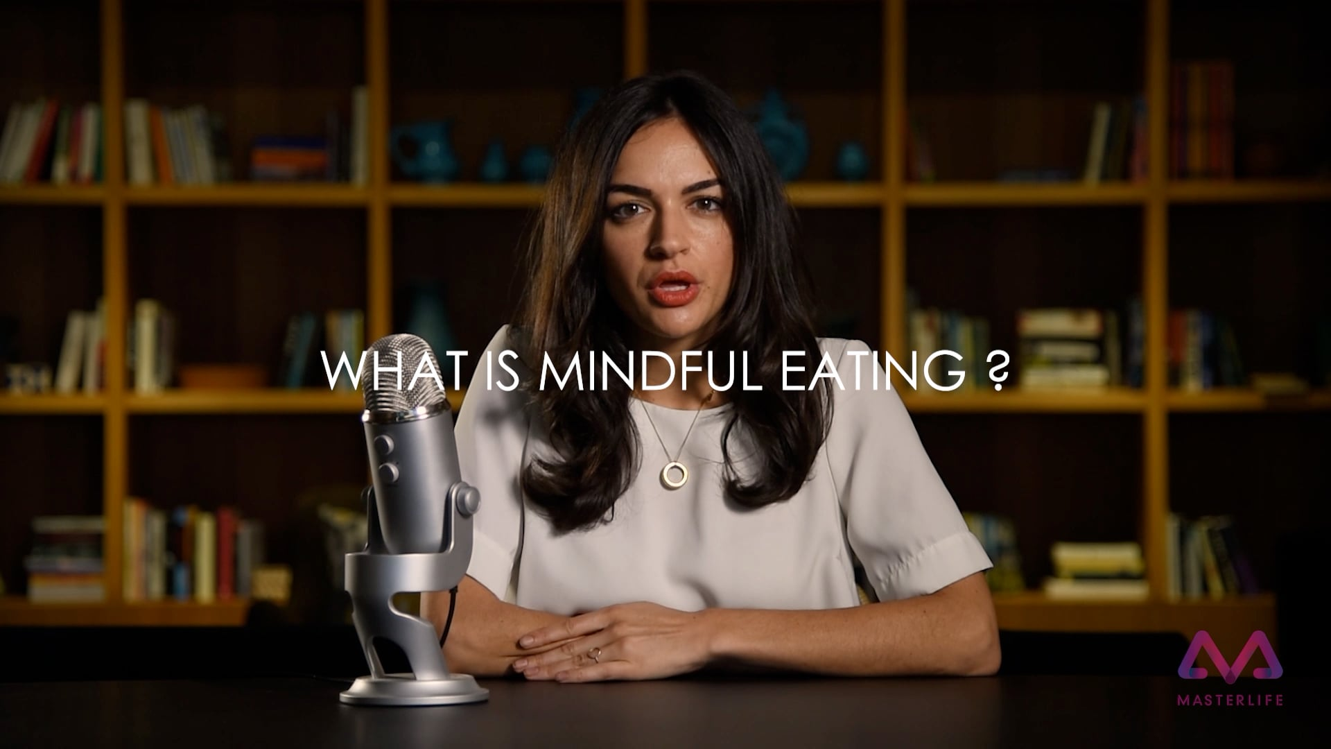 Preview - Mindful Eating by Sarah Nicole Edwards on Masterlife app.