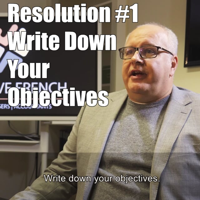 12 New Years Resolutions
