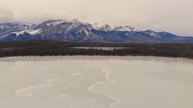 Jasper National Park, Canada - 4K Short Aerial Relax Video