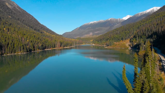 Aerial Views of Canada. Highway 99, British Columbia