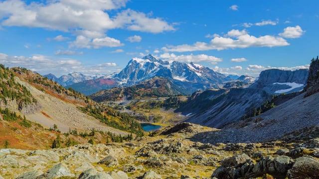North Cascades National Park. Fall Foliage. Part 1