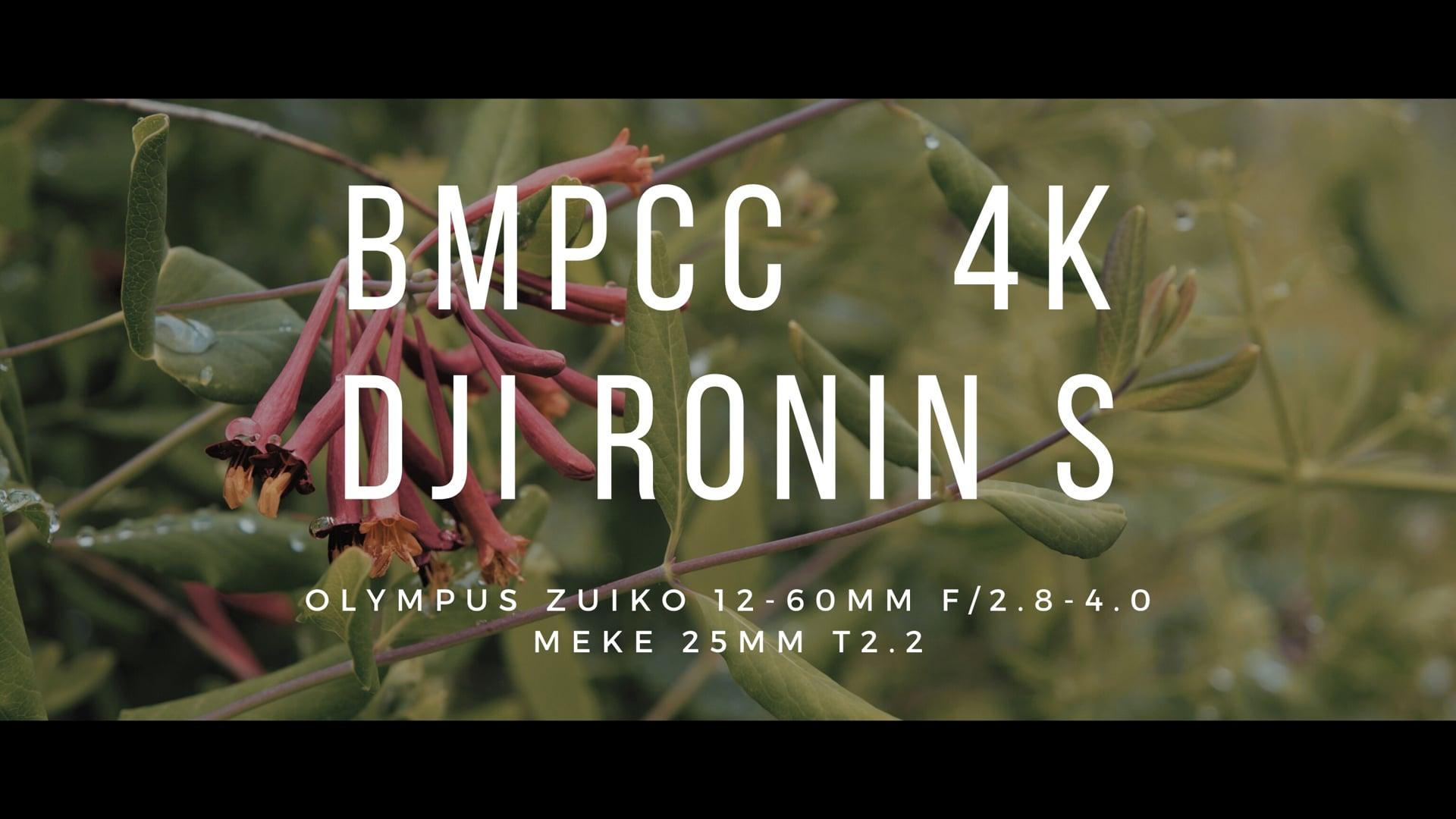 BMPCC4k - DJI RONIN S - Olympus Zuiko 12-60mm f/2.8-4.0