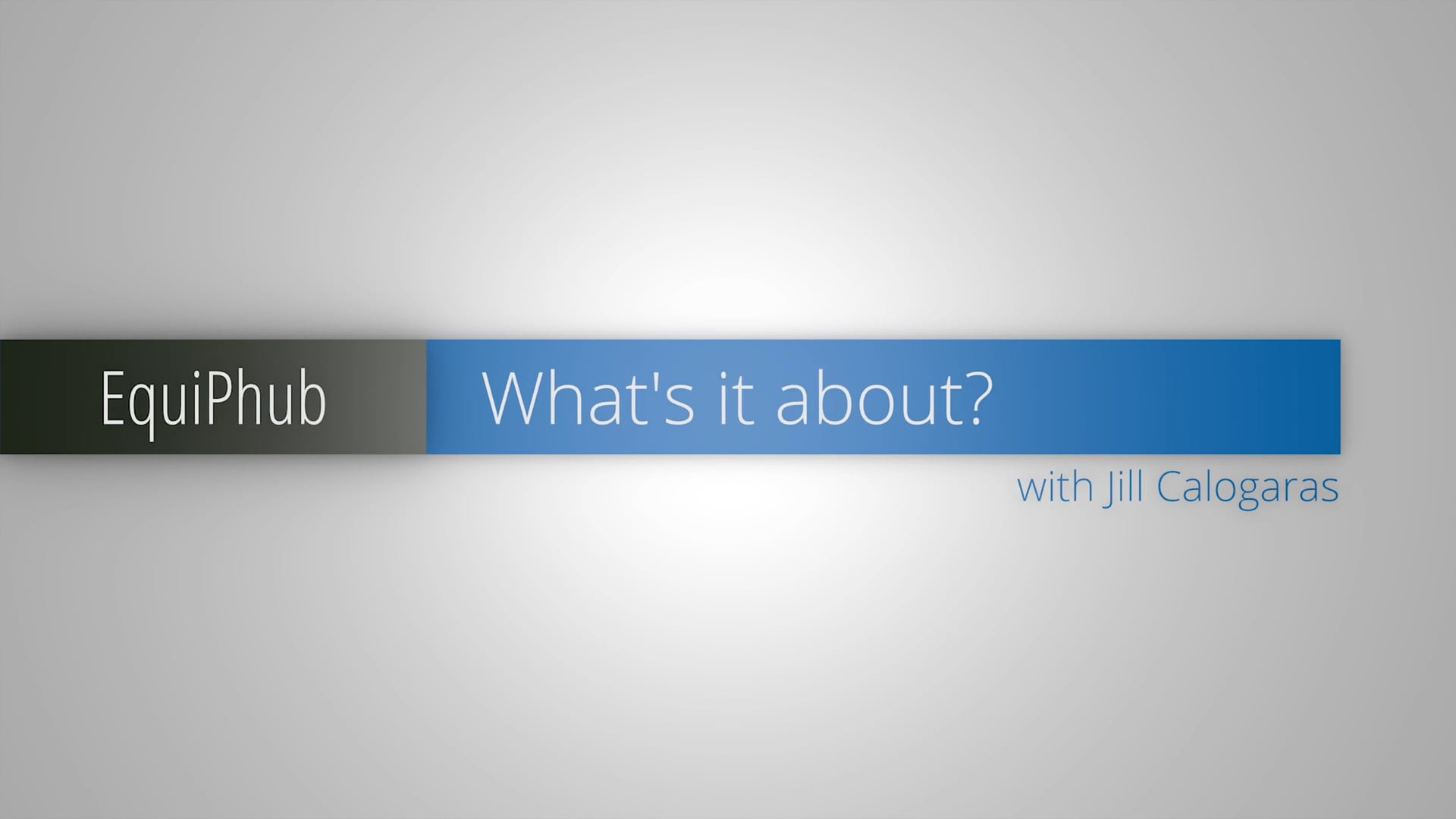 Introducing EHUB - with Jill Calogaras