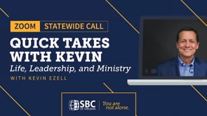 Statewide Zoom Call with Kevin Ezell | SBC of Virginia