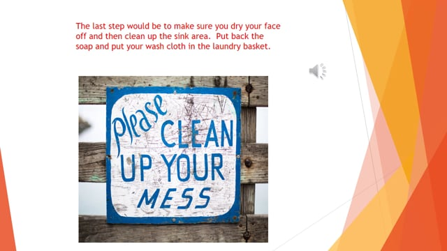 Remote Learning 13 - Wash Your Face