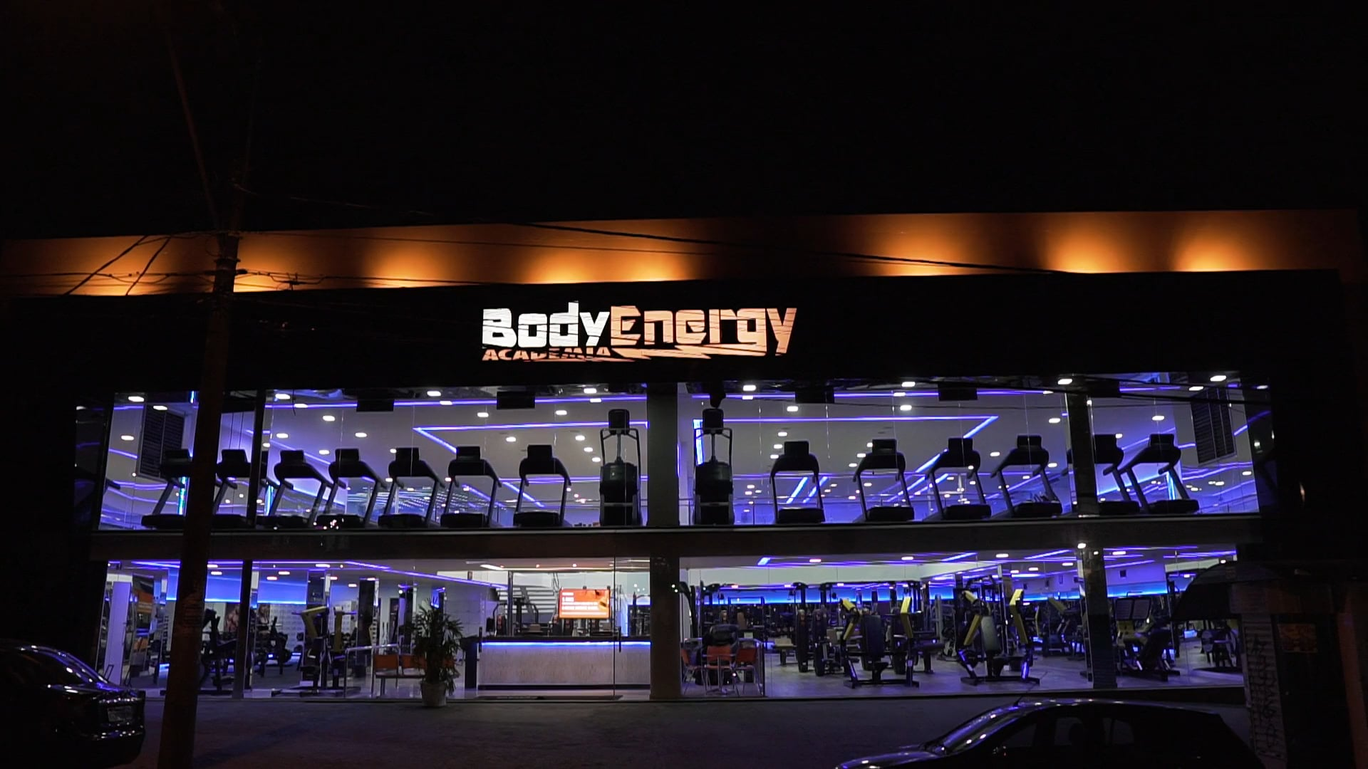 Academia Body Energy - Un. Dona Clara | Estrutura