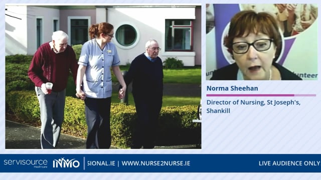 Norma Sheehan - Managing COVID-19 in the Care of the Older Person Setting