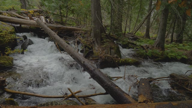 Enchantment Lakes Trail Waterfalls