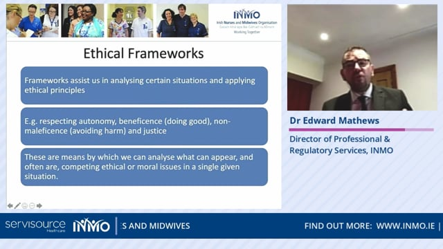 Dr Edward Mathews - Coping with COVID-19, Resilience and Ethics of Practicing in a Pandemic