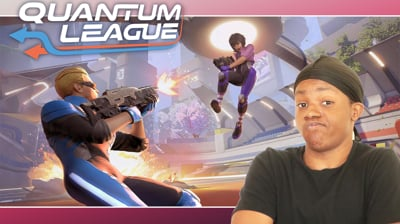Quantum League! NEW Game with Dion! (Stream Replay)