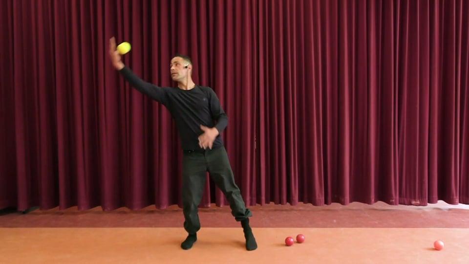 Jonglieren Teil 2 - Zirkus und Tanz