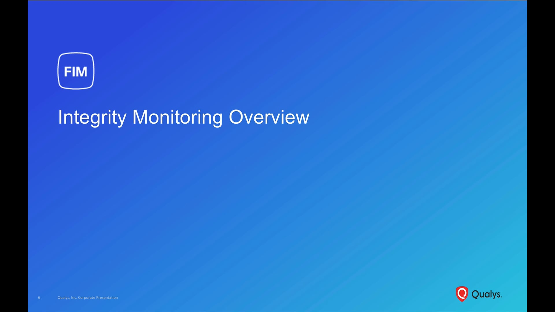 Integrity Monitoring Overview