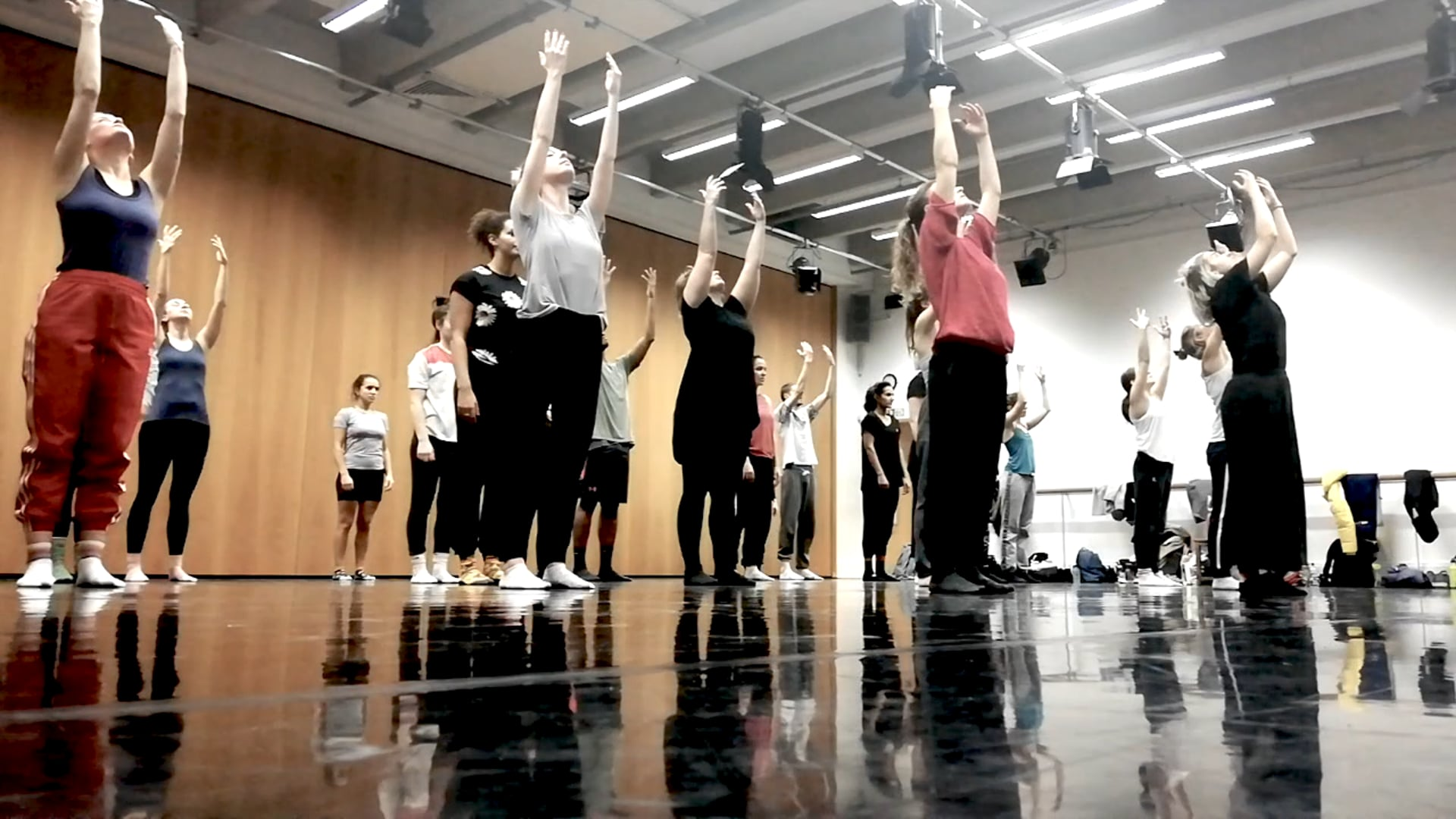 Scatter Dance Company - The Place (rehearsal)