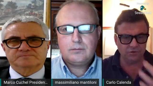 Confronto Carlo Calenda-Marco Cuchel: come far ripartire l'Italia dopo la pandemia?