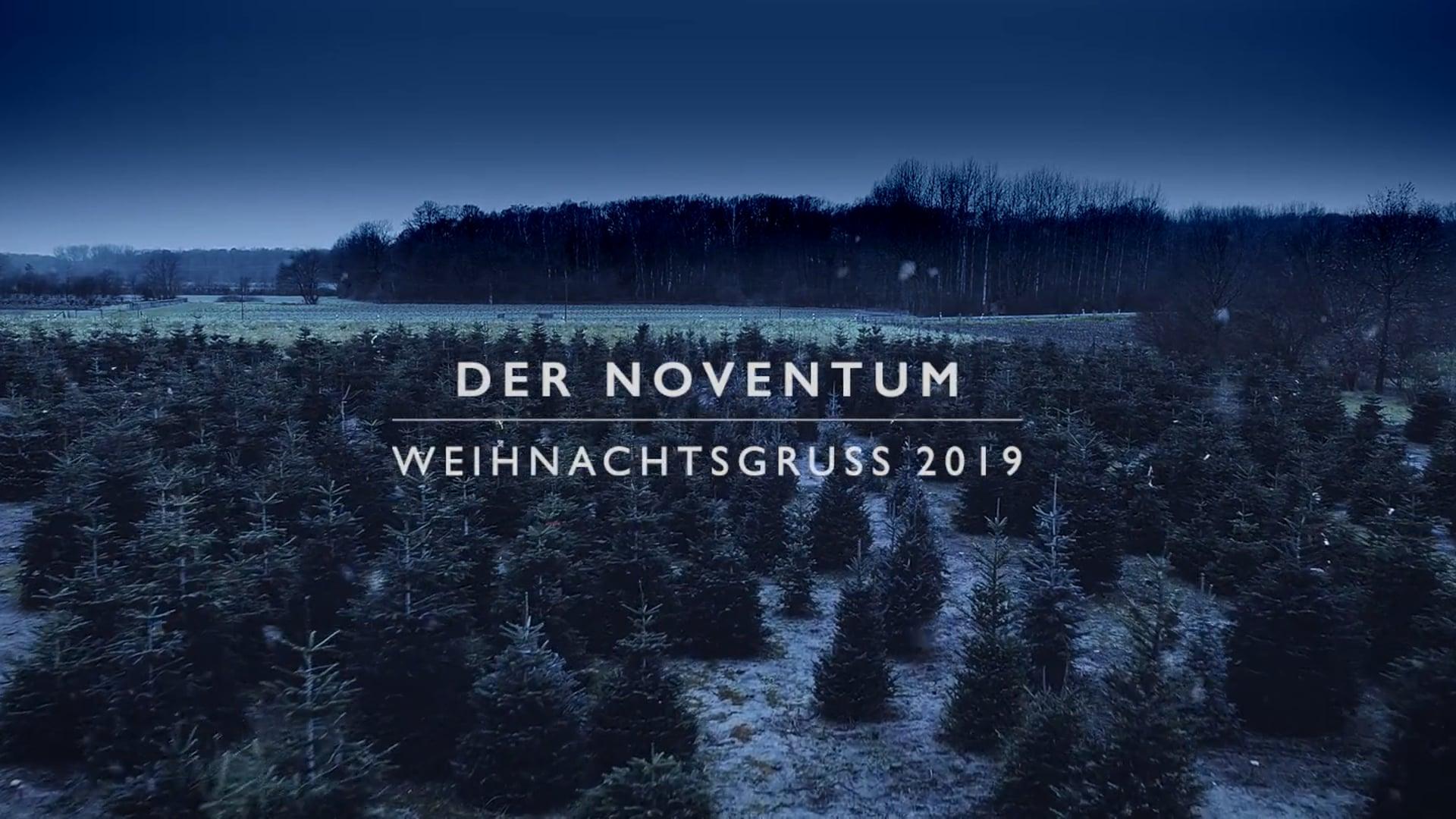 Noventum Weihnachtsgrüße 2019