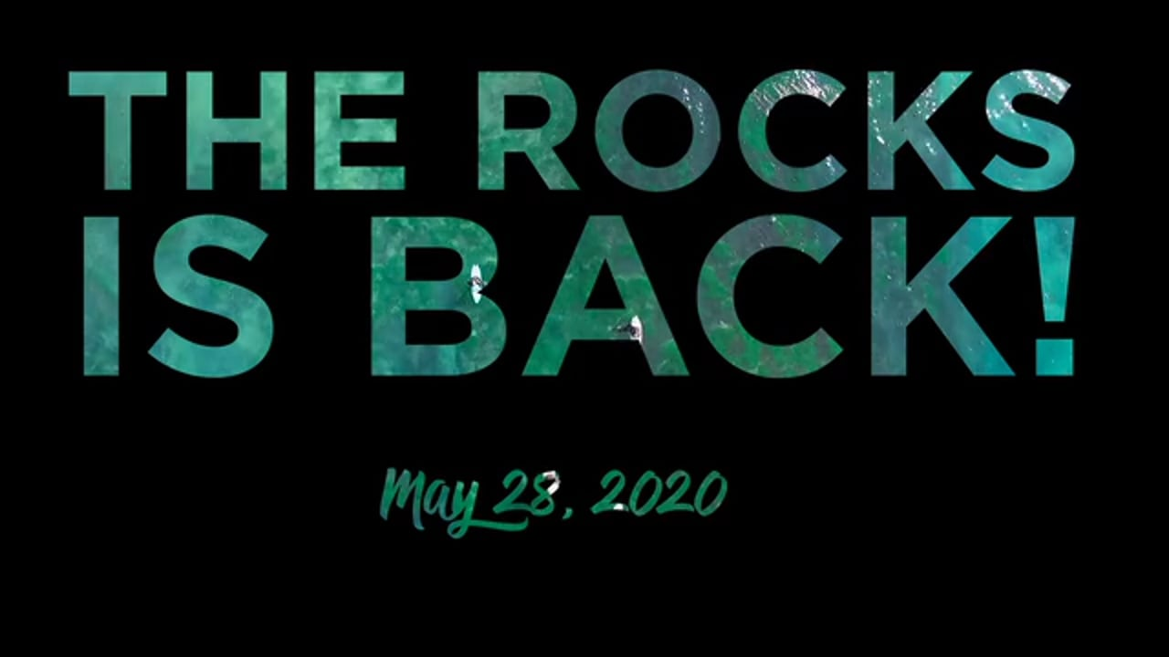 THE ROCKS IS BACK