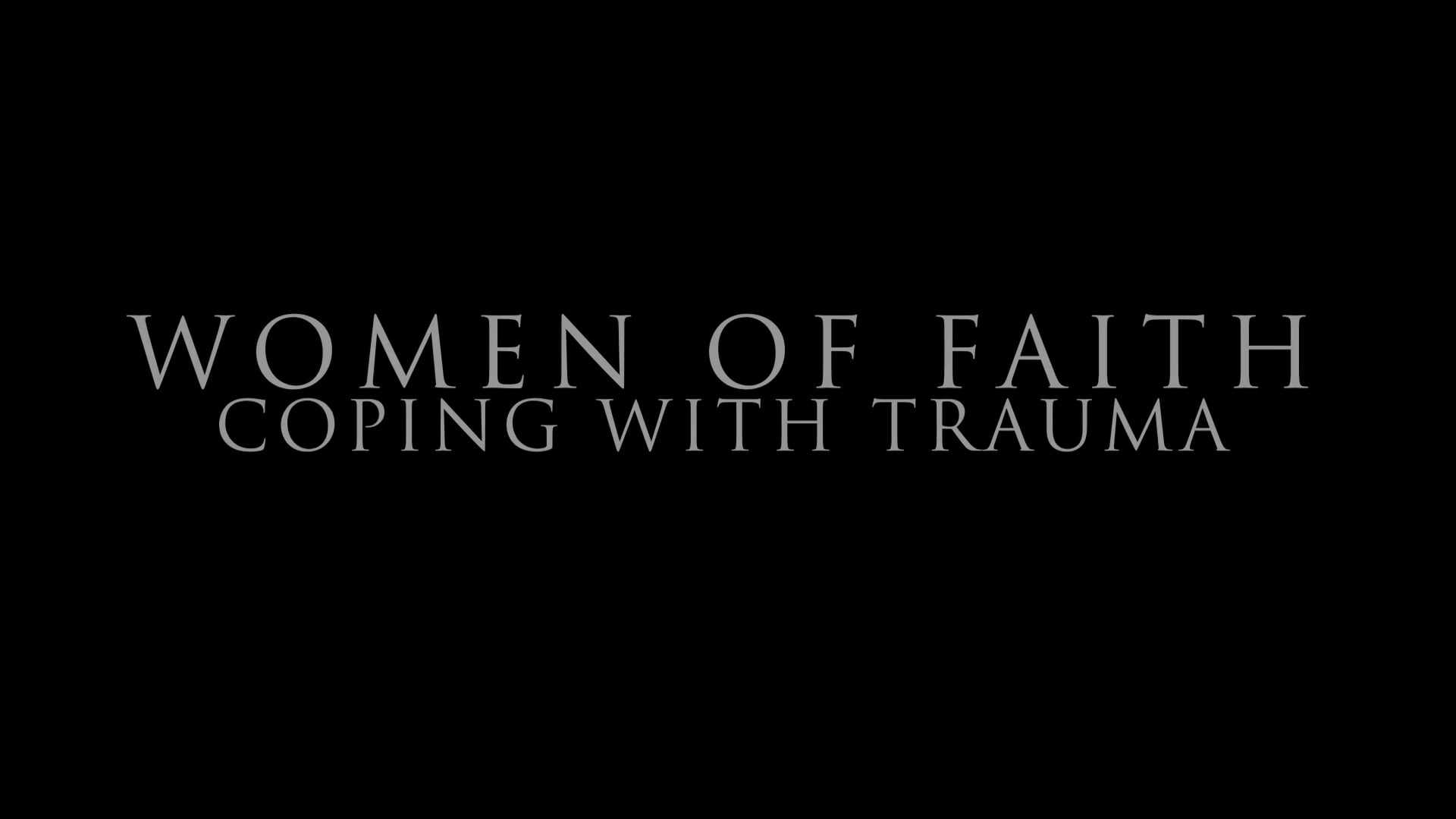 Women of Faith Film Trailer