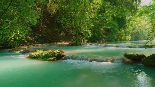 Elsa River. Hidden Gem of Italian Tuscany